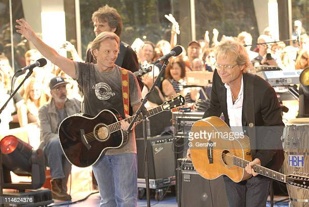 Dewey Bunnell and Gerry Beckley of America perform on NBC's 'Today' Show