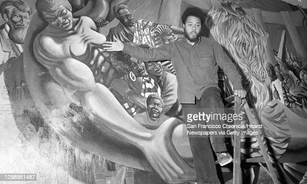 Dewey Crumpler would painter an alternative mural at George Washington High School after students protest the portrayal of slaves in the 1930s WPA...