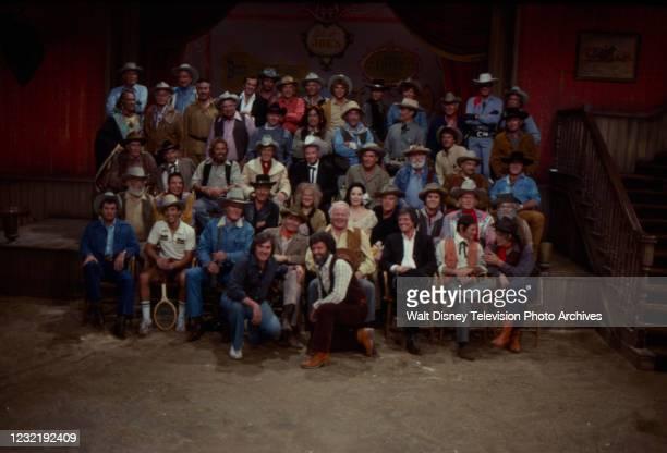 Dewey Martin, Johnny Crawford, Chuck Connors, Glenn Ford, Alan Hale Jr, Henry Darrow, Larry Storch, Neville Brand, Denver Pyle, Iron Eyes Cody, Harry...