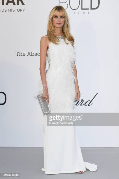 Dewi Driegen arrives at the amfAR Gala Cannes 2018 at Hotel du CapEdenRoc on May 17 2018 in Cap d'Antibes France