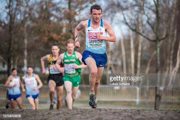 Dewi Griffiths from Great Britain Northern Ireland competes during the Men's race of the SPAR European Cross Country Championships on December 9 2018...