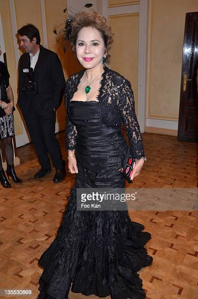 Dewi Sukarno attends The Best Awards 2011 Ceremony at Pavillon Dauphine on December 11 2011 in Paris France
