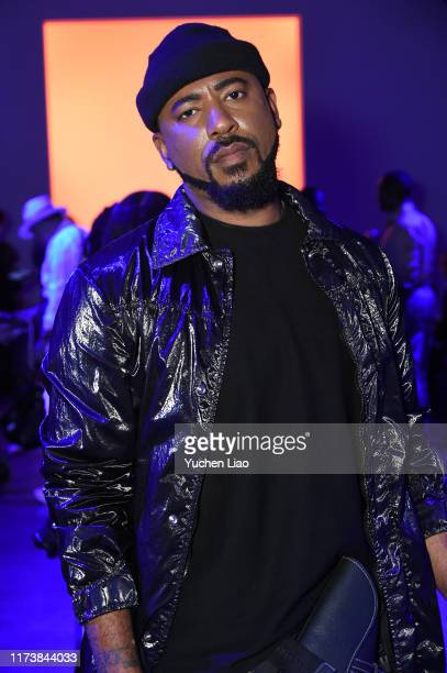 Dex Robinson attends Aliette fashion show during New York Fashion Week The Shows at Gallery II at Spring Studios on September 11 2019 in New York City