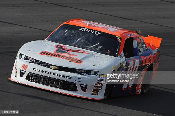Dexter Bean driver of the BuckedUp Apparel Chevrolet on track during practice for the NASCAR XFINITY Series VysitMyrtleBeachcom 300 at Kentucky...
