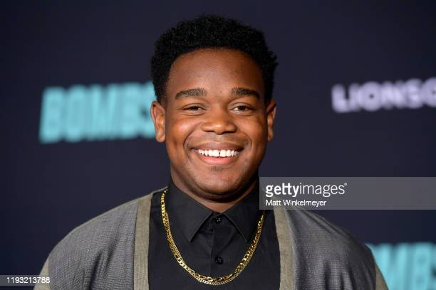 Dexter Darden attends a Special Screening of Liongate's Bombshell at Regency Village Theatre on December 10 2019 in Westwood California