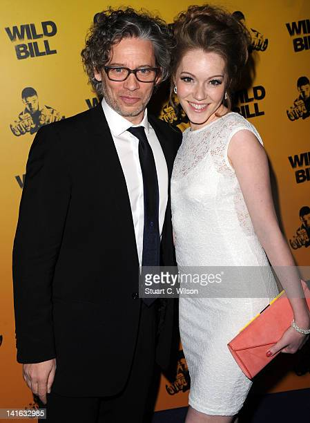 Dexter Fletcher and Charlotte Spencer attend the premiere of Wild Bill at Cineworld Haymarket on March 20 2012 in London England