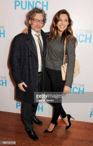 Dexter Fletcher and Kelly Brook attend the UK Premiere of 'Welcome To The Punch' at the Vue West End on March 5, 2013 in London, England.