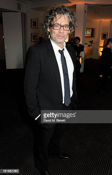 Dexter Fletcher attends a special screening of Sunshine On Leith hosted by Jamie Oliver and Dexter Fletcher at BAFTA on September 23 2013 in London...