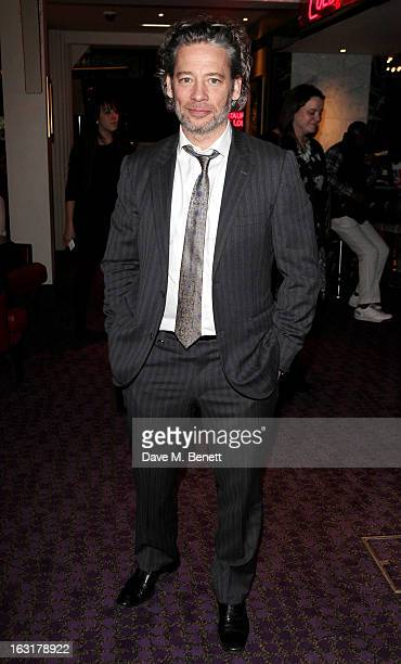 Dexter Fletcher attends an after party following the 'Welcome To The Punch' UK Premiere at the Hippodrome Casino on March 5 2013 in London England