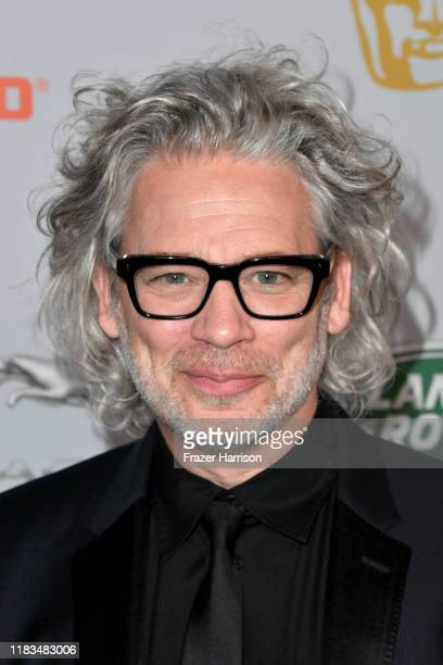 Dexter Fletcher attends the 2019 British Academy Britannia Awards presented by American Airlines and Jaguar Land Rover at The Beverly Hilton Hotel on...