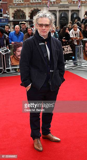Dexter Fletcher attends the 'Mindhorn' World Premiere screening during the 60th BFI London Film Festival at Odeon Leicester Square on October 9 2016...