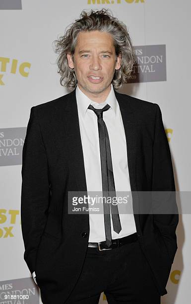 Dexter Fletcher attends the Opening Gala for The Times BFI London Film Festival which Premiere's 'Fantastic Mr Fox' at the Odeon Leicester Square on...