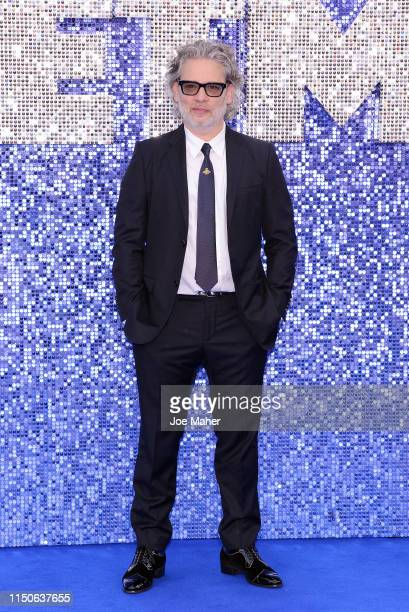 """Dexter Fletcher attends the """"Rocketman"""" UK Premiere at Odeon Leicester Square on May 20, 2019 in London, United Kingdom."""