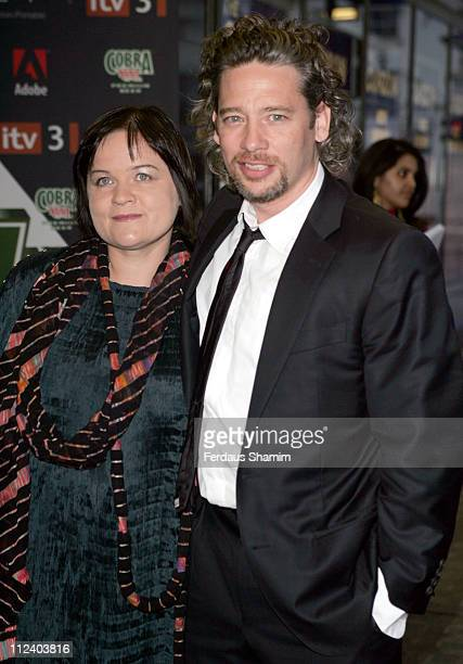 Dexter Fletcher during The Cobra Vision Awards 2006 Inside Arrivals at Curzon Mayfair in London Great Britain
