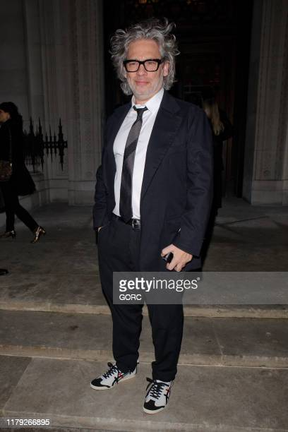 Dexter Fletcher seen attending the Academy of Motion Pictures and Sciences new members reception at the Freemasons Hall in Covent Garden on October...