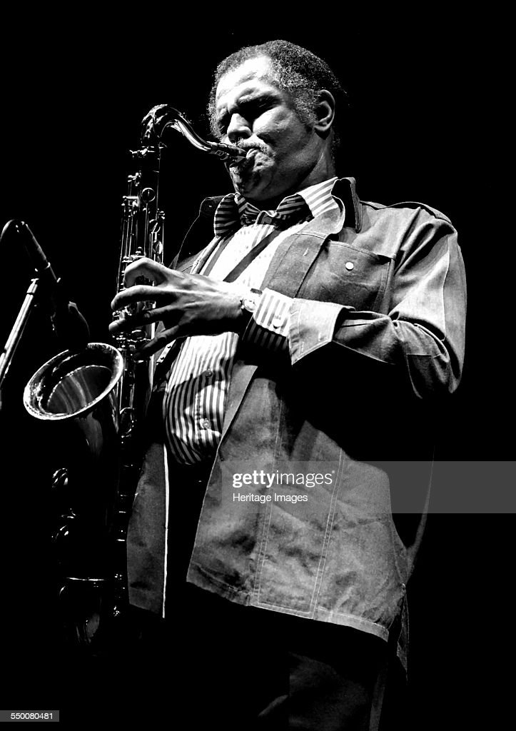 Dexter Gordon, Capital Jazz, Knebworth, 1981.   Artist: Brian O'Connor. : News Photo
