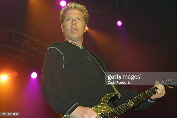 Dexter Holland of The Offspring during KRock ClausFest 2003 Day Two at Hammerstein Ballroom in New York City New York United States