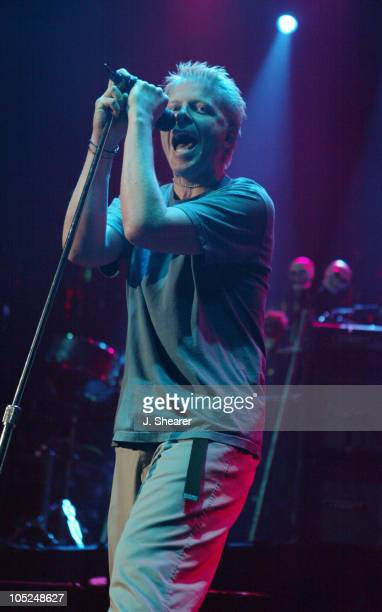 Dexter Holland of The Offspring during Live 105's 'Not So Silent Night' Concert 2003 in San Francisco at Bill Graham Civic Auditorium in San...