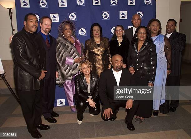 Dexter King Recording Academy President/CEO Michael Green Della Reese Coretta Scott King Gail Buckley General George Price Shirley Caesar Shari...