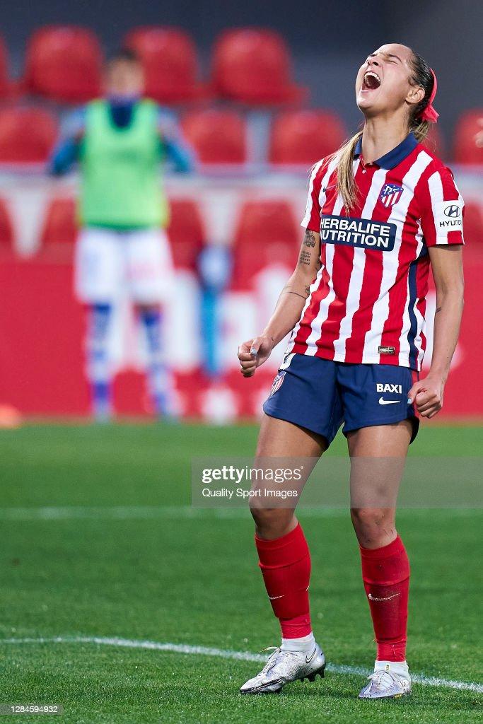 Atletico de Madrid v Sporting Huelva - Primera Division Feminina : Nachrichtenfoto