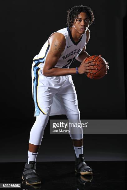 Deyonta Davis of the Memphis Grizzlies poses for a portrait during Memphis Grizzlies Media Day on September 25 2017 at FedExForum in Memphis...