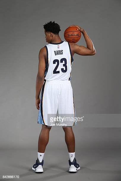 Deyonta Davis of the Memphis Grizzlies poses for a portrait on June 24 2016 at FedExForum in Memphis Tennessee NOTE TO USER User expressly...