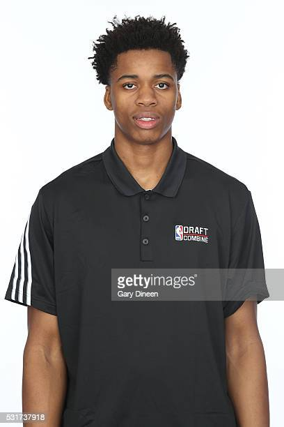 Deyonta Davis poses for a medical imaging head shot as part of the 2016 NBA Draft Combine on May 14 2016 at Northwestern Memorial Hospital in Chicago...