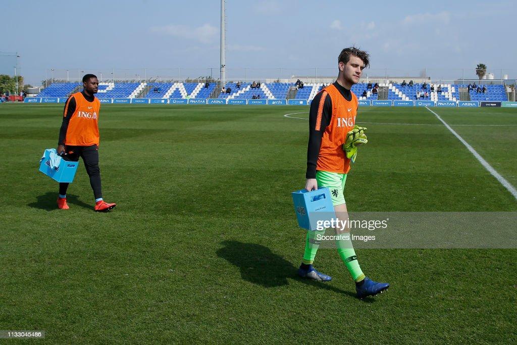 ESP: Netherlands U21 v Egypt U21 - International Friendly