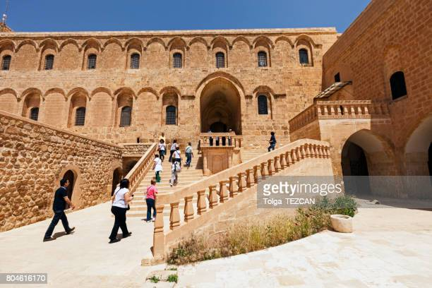 Deyr ul-Zafaran Monastery in Mardin, Turkey