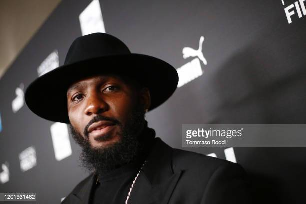 Dez Bryant attends 2020 Roc Nation THE BRUNCH on January 25, 2020 in Los Angeles, California.