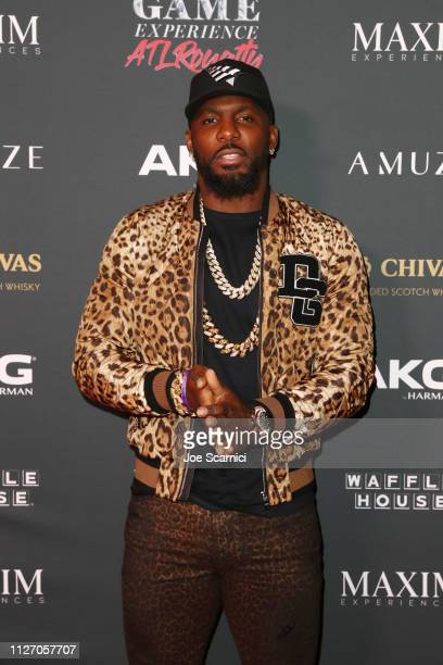 Dez Bryant attends The Maxim Big Game Experience at The Fairmont on February 02, 2019 in Atlanta, Georgia.