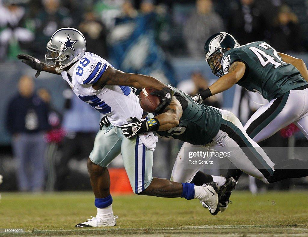 Dallas Cowboys v Philadelpia Eagles : Foto jornalística