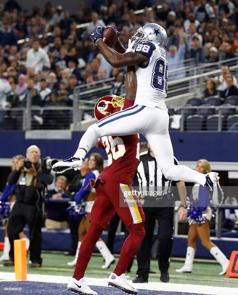 fc1c9422683 Dez Bryant #88 of the Dallas Cowboys makes a touchdown reception against  Bashaud Breeland #