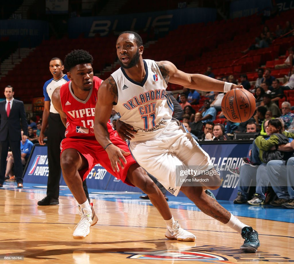 Rio Grande Valley Vipers v Oklahoma City Blue