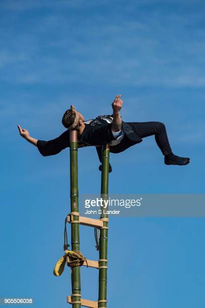 Dezomeshiki Edo Firefighter Stunts Dezomeshiki is an annual event that takes place early January each year normally sponsored by local firefighter...