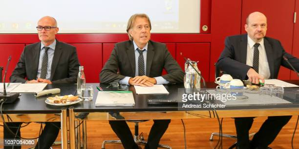 Judge Achim Spaeth during the DFB Federal Court Hearing at DFB Headquarter on September 21 2018 in Frankfurt am Main Germany