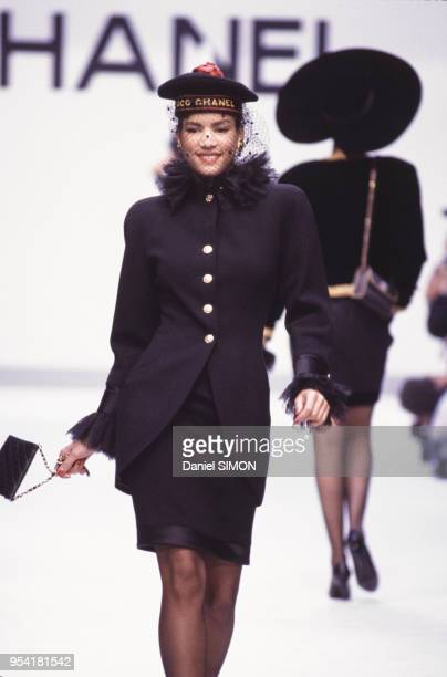 Défilé Chanel en juillet 1987 à Paris France