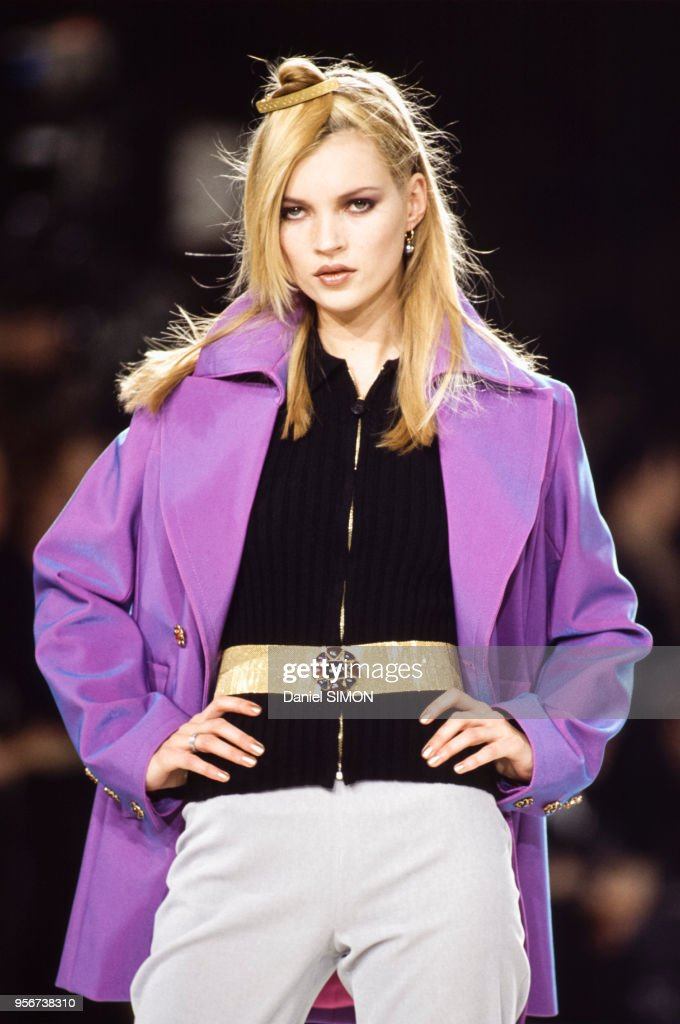 Défilé Chanel, Prêt-à-Porter, Automne-Hiver 1996-97 : Photo d'actualité