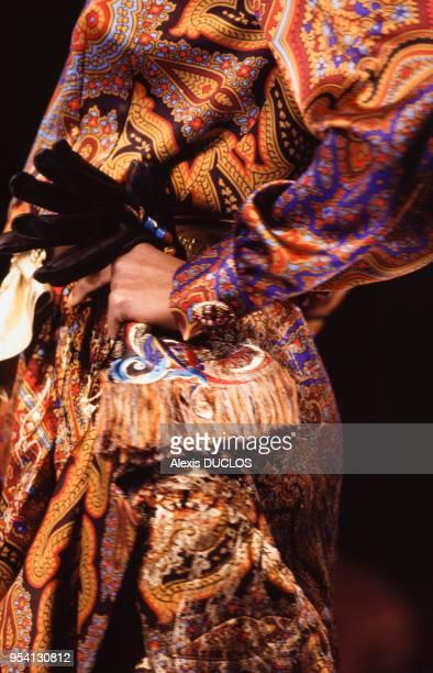 Défilé Dior Haute Couture Automne-Hiver 1993-1994 en juillet 1993 à Paris, France.