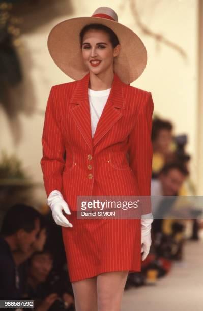 Défilé Hermès PrêtàPorter collection Printemps/été 1998 à Paris le 19 octobre 1987 France