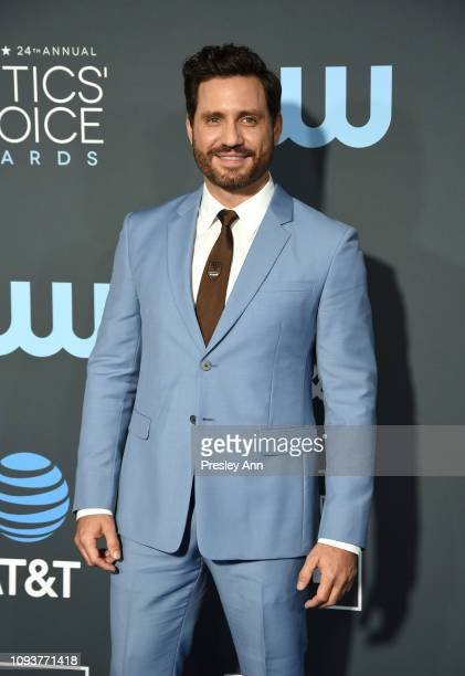 Édgar Ramírez at The 24th Annual Critics' Choice Awards at Barker Hangar on January 13, 2019 in Santa Monica, California.
