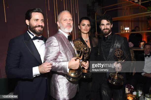 Dgar Ram'rez, Ryan Murphy, PenŽlope Cruz and Darren Criss attend FOX Broadcasting Company, FX, National Geographic and 20th Century Fox Television...