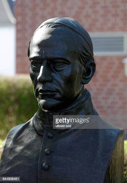 DGoch Niers Lower Rhine Rhineland North RhineWestphalia NRW Adolph Kolping German catholic priest sculpture bust