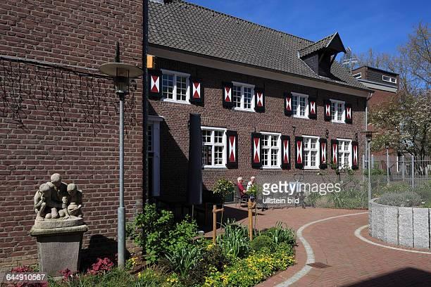 DGoch Niers Lower Rhine Rhineland North RhineWestphalia NRW womens house retirement home brick building