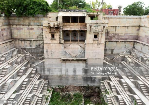 Dhabhai ka Kund stepwell, Rajasthan, Bundi, India on July 16, 2019 in Bundi, India.