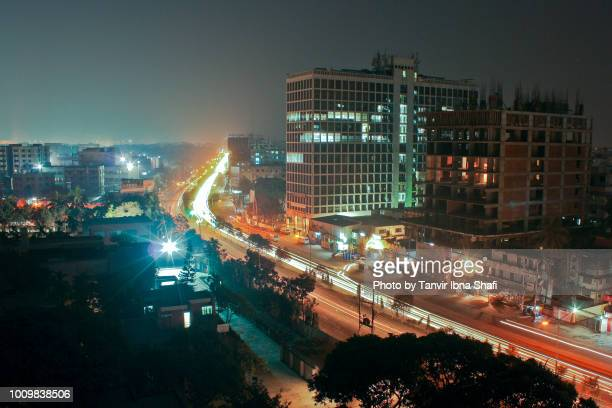 dhaka city-the concrete jungle - bangladesh stock pictures, royalty-free photos & images