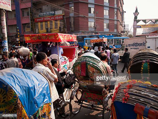 dhaka is the most densely populated city - dhaka stock pictures, royalty-free photos & images