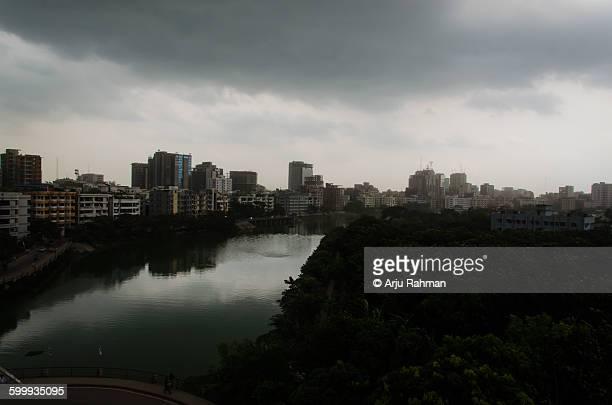 dhaka skyline - dhaka stock pictures, royalty-free photos & images