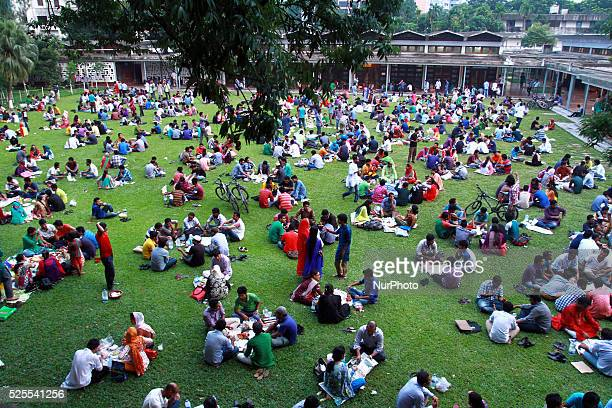 Dhaka University TeacherStudent Centre bustles with festivity in the evenings of Ramadan as students and alumni arrange numerous small iftar parties...