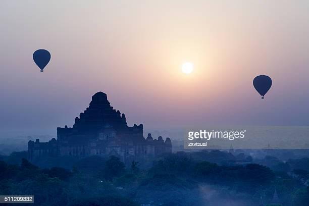 Dhammayangyi Temple Sunrise in Bagan Myanmar